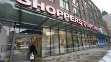 A Shoppers Drug Mart in downtown Toronto on Feb. 6 2014. (Fred Lum/The Globe and Mail)