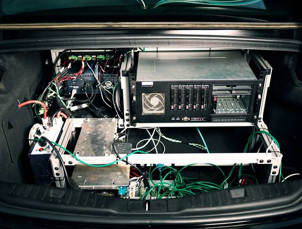 Aurora's driverless cars have some serious electronic gear in the trunk. But where will your suitcases go?
