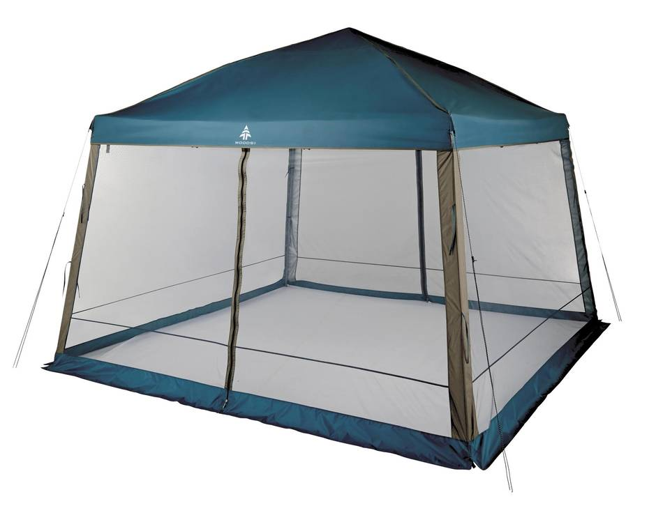 Woods Easy Up Gazebo 12-by-12 ft  sc 1 st  The Globe and Mail & Happy campers: This seasonu0027s best tents for your summer trip - The ...
