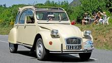 Citroen 2CV: The Citroën Deux Chevaux (commonly known as the 2CV) was built in France from 1948 until 1990. (Alamy)