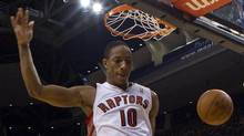 Toronto Raptors' DeMar DeRozan (Chris Young/The Canadian Press)