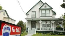 A house for sale in Bridgetown, Nova Scotia. It makes sense to rent while waiting for the right time to buy a house, says Rob Carrick. (Paul Darrow/The Globe and Mail)