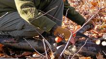 Book on a Basic Bushcraft Skills program with Canadian Bushcraft. (Caleb Musgrave/Canadian Bushcraft)