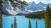Lake Louise, Alta., will be the site of a World Economic Forum event on climate change in April, 2014. (CHRIS BOLIN FOR THE GLOBE AND MAIL)