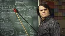 Comedian Jack Black as Dewey in the 2003 film The School of Rock. (Andrew Schwartz/ Paramount Pictures)