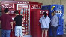 In the U.S., Redbox partners with retailers and fast-food restaurants to place its booths. (FRED PROUSER/FRED PROUSER/REUTERS)