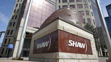Calgary-based Shaw Communications is appealing a CRTC decision on usage-based billing. (Jeff McIntosh/THE CANADIAN PRESS)