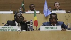 African leaders sign deal to end two decades of conflict in Congo's east