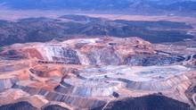 An open pit copper and gold mine located in eastern Nevada approximately 11 km west of the town of Ely. (Courtesy of Quadra Mining)