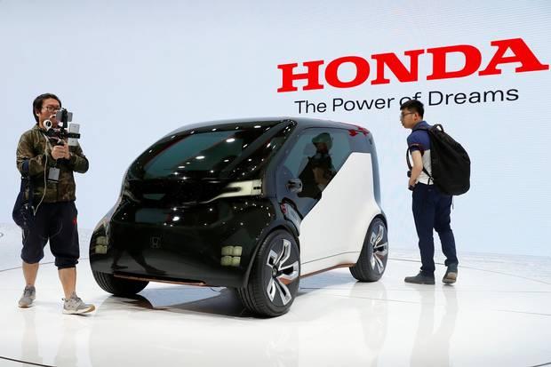 A Honda concept car.