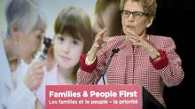 Kathleen Wynne's Liberals are expected to make a large cash injection in the province's schools in next month's budget. (Frank Gunn/The Canadian Press)