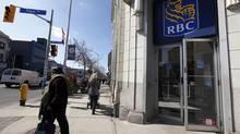 A Royal Bank of Canada, RBC location in Toronto. (Deborah Baic/The Globe and Mail)