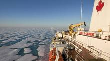 The Canadian icebreaker Louis St. Laurent, shown in 2008. (Jonathan Hayward/The Canadian Press)
