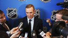 'The only way we're right is if we win, and we understand that,' Steve Yzerman says of being a Team Canada GM. (LUCAS JACKSON/REUTERS)