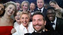Some of the money raised by Ellen DeGeneres's star-studded selfie went to the Humane Society of the United States, a vocal opponent of the seal hunt. (Ellen DeGeneres/THE CANADIAN PRESS)