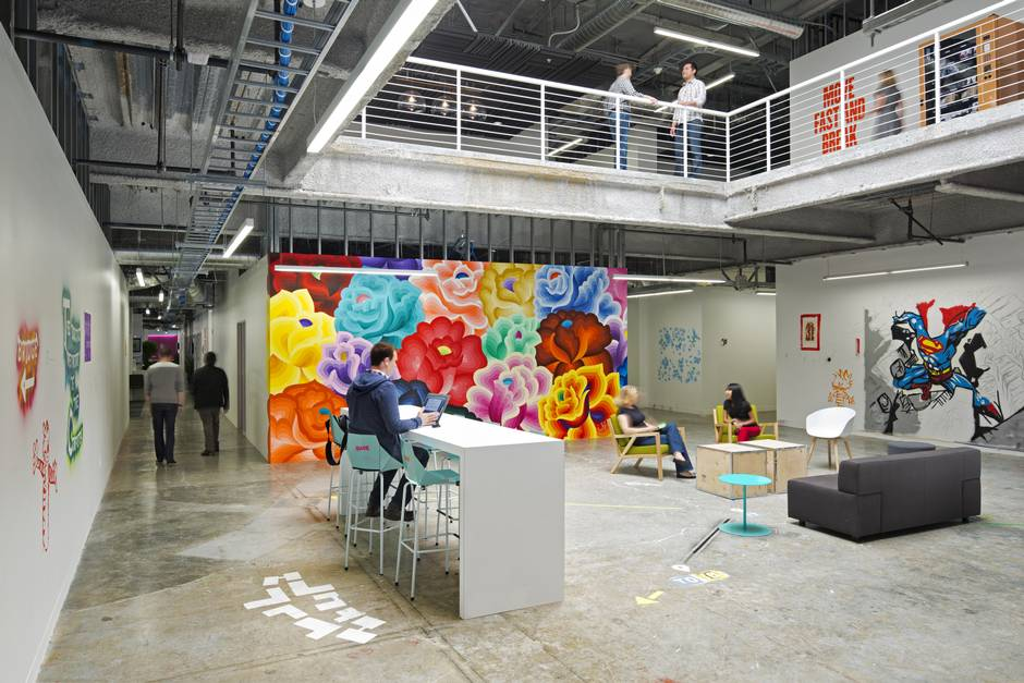facebook home office. Welcome To Building 20, The Sprawling Fortress That Serves As Facebook\u0027s California Nerve Centre - Globe And Mail Facebook Home Office