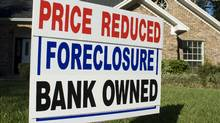 RealtyTrac estimates 4 million U.S. homeowners will lose their houses to foreclosure this year. Kirby Hamilton/iStockphoto (Kirby Hamilton/iStockphoto)