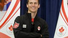 Canadian freestyle skier Steve Omischl smiles during the announcement of the Canadian Vancouver 2010 Olympic freestyle skiing and ski-cross team, in Montreal, Monday, Jan., 25, 2010. (Graham Hughes/THE CANADIAN PRESS)