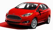 2014 Ford Fiesta sedan (Ford)
