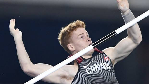 Canadian Shawn Barber eliminated from pole vault in early exit