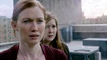 Mireille Enos in World War Z: 'I definitely have a serious side, but in general I walk through life very optimistic and light and lucky to have lots of laughter. I don't know why dark roles and I seem to find each other.'