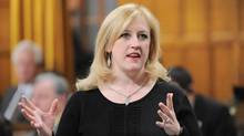 Labour Minister Lisa Raitt responds to a question during Question Period in the House of Commons on Parliament Hill in Ottawa on Wednesday, March 7, 2012. (Sean Kilpatrick/Sean Kilpatrick/The Canadian Press)