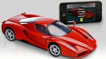 Silverlit Interactive Bluetooth Remote Control Enzo Ferrari Car: A remote control car modelled after a Ferrari is one way to cater to the little boy in any dad. (Silverlit)