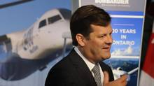 File photo of Pierre Beaudoin, chief executive officer of Bombardier Inc. (Fred Lum/The Globe and Mail)