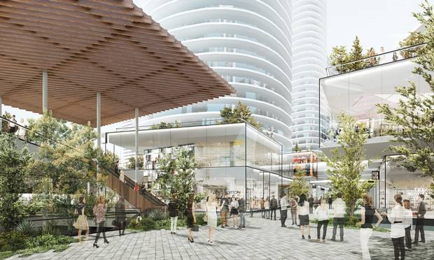 A product of the 1950s suburban mall boom, Oakridge is getting a 21st century facelift, including nine residential towers, community centre and music venue.