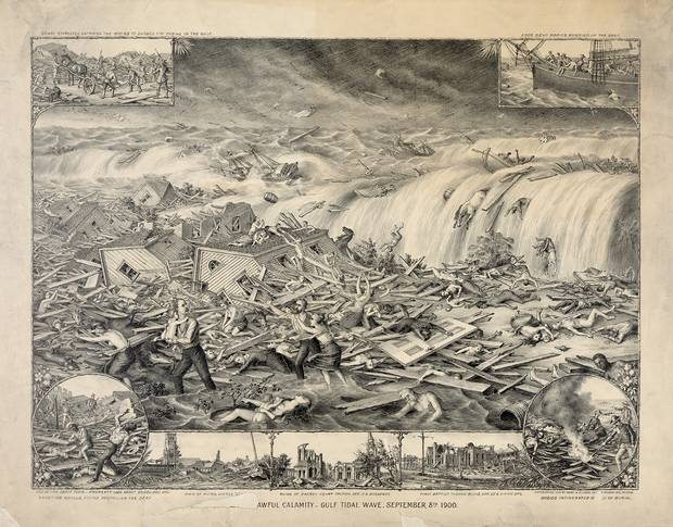 In 1900, a hurricane swept through the town of Galveston, Texas. The deadliest natural disater in U.S. history