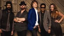 Superheavy (from left): Damian Marley, Dave Stewart, Mick Jagger, A.R. Rahman and Joss Stone (Handout)