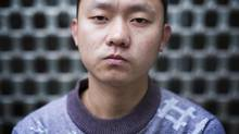 Ren Jianyu, a blogger who was sent to labour camp seen here in Chongqing January 18, 2013. (John Lehmann/The Globe and Mail)