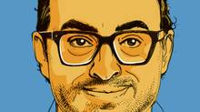 Author Gary Shteyngart (Tonia Cowan/The Globe and Mail)