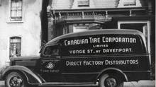 Canadian Tire delivery car circa 1949 (CANADIAN TIRE)