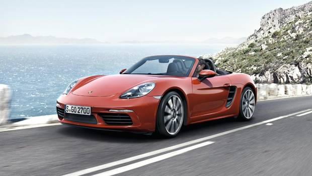 World Performance Car of the Year: Porsche Boxster Cayman.