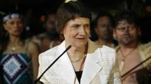 Helen Clark, administrator of the United Nations development program and a former prime minister of New Zealand, is seen in an April 2007 file photo. (HEINO KALIS/REUTERS)