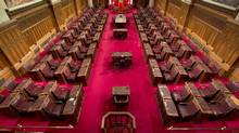 The Senate chamber on Parliament Hill is seen May 28, 2013, in Ottawa. (Adrian Wyld/The Canadian Press)