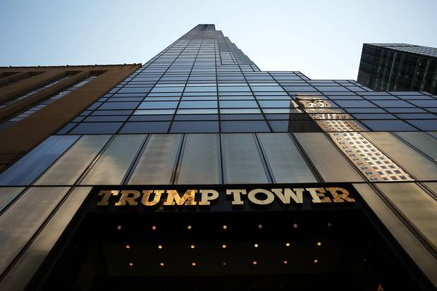 Trump's love for gold can be seen at his Trump Tower residence and at his beachfront Mar-a-Lago compound.