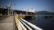Kinder Morgan Westridge marine terminal in Burnaby, British Columbia (Rafal Gerszak For The Globe and Mail)