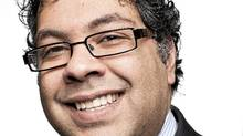 Calgary mayor Naheed Nenshi, photographed in his office on Feb. 2, 2011, on his 100th day in office. (Chris Bolin for The Globe and Mail)