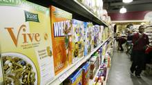"""Food giant Kellogg said it would be changing some product formulas and removing """"all natural"""" and """"nothing artificial"""" from some Kashi brand products in the United States as part of a legal settlement. (M. Spencer Green/The Canadian Press)"""