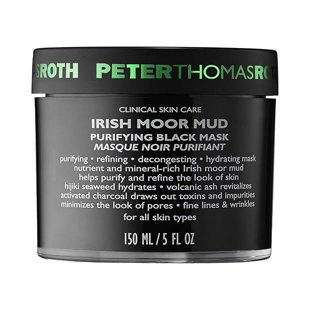 Peter Thomas Roth Irish Moor Mud Purifying Black Mask, $72 at Sephora.