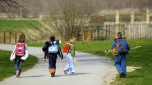Lenore Skenazy, author of Free Range Kids, says both children and parents need to be prepared for their child's first walk alone. (Pernjakovic Mirko/Thinkstock)