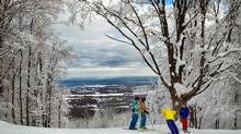 Blue Mountain's new terrain – known as the Orchard – offers challenging intermediate and beginner runs.