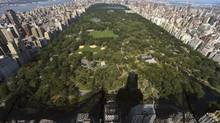 An aerial view of Central Park. (Chang W. Lee/The New York Times)
