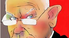 Illustration of entrepreneur Rod Bryden. (Anthony Jenkins/The Globe and Mail)