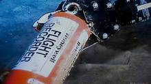 This photo provided Sunday May 1, 2011 by France's air accident investigation agency, the BEA, shows the flight data recorder from the 2009 Air France flight that went down in the mid-Atlantic. (Johann Peschel/AP/Johann Peschel/AP)
