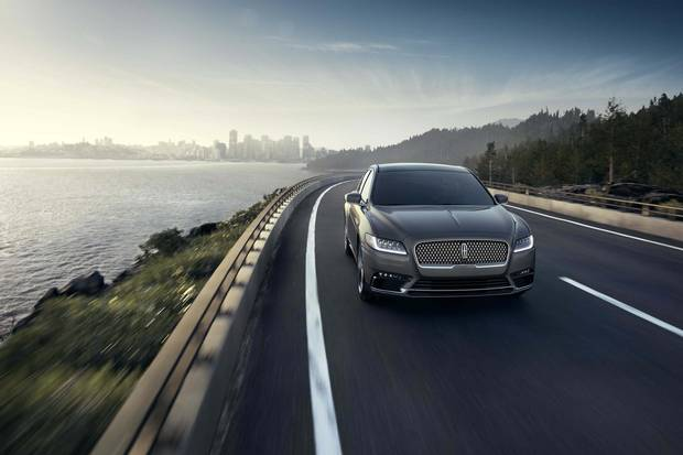 2017 Lincoln Continental exactly the same as the 2018 model