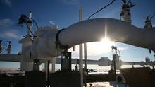 Enbridge hopes that increased safety procedures, including magnetic resonance imaging testing on pipelines, will be enough to convince locals to approve its Northern Gateway project. (Nathan VanderKlippe/The Globe and Mail)