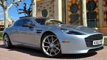 2014 Aston Martin Rapide S (Michael Bettencourt for The Globe and Mail)